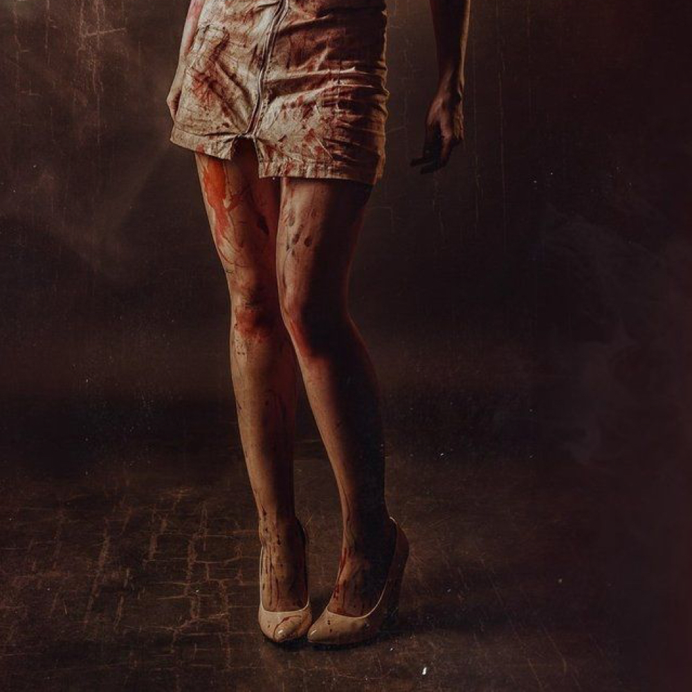 Silent Hill Nurse Costume - Silent Hill Fancy Dress - Silent Hill Nurse High Heels