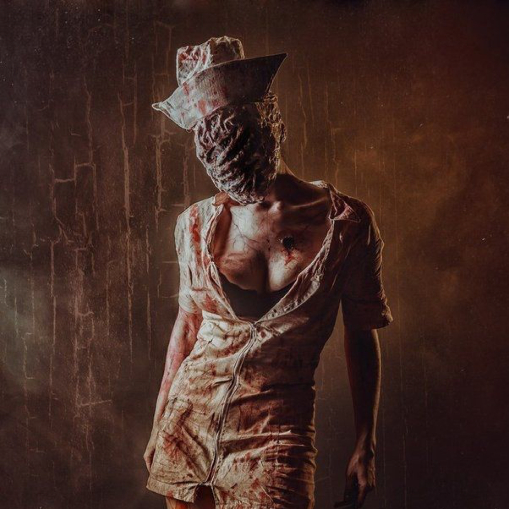 Silent Hill Nurse Costume - Silent Hill Fancy Dress - Silent Hill Mask