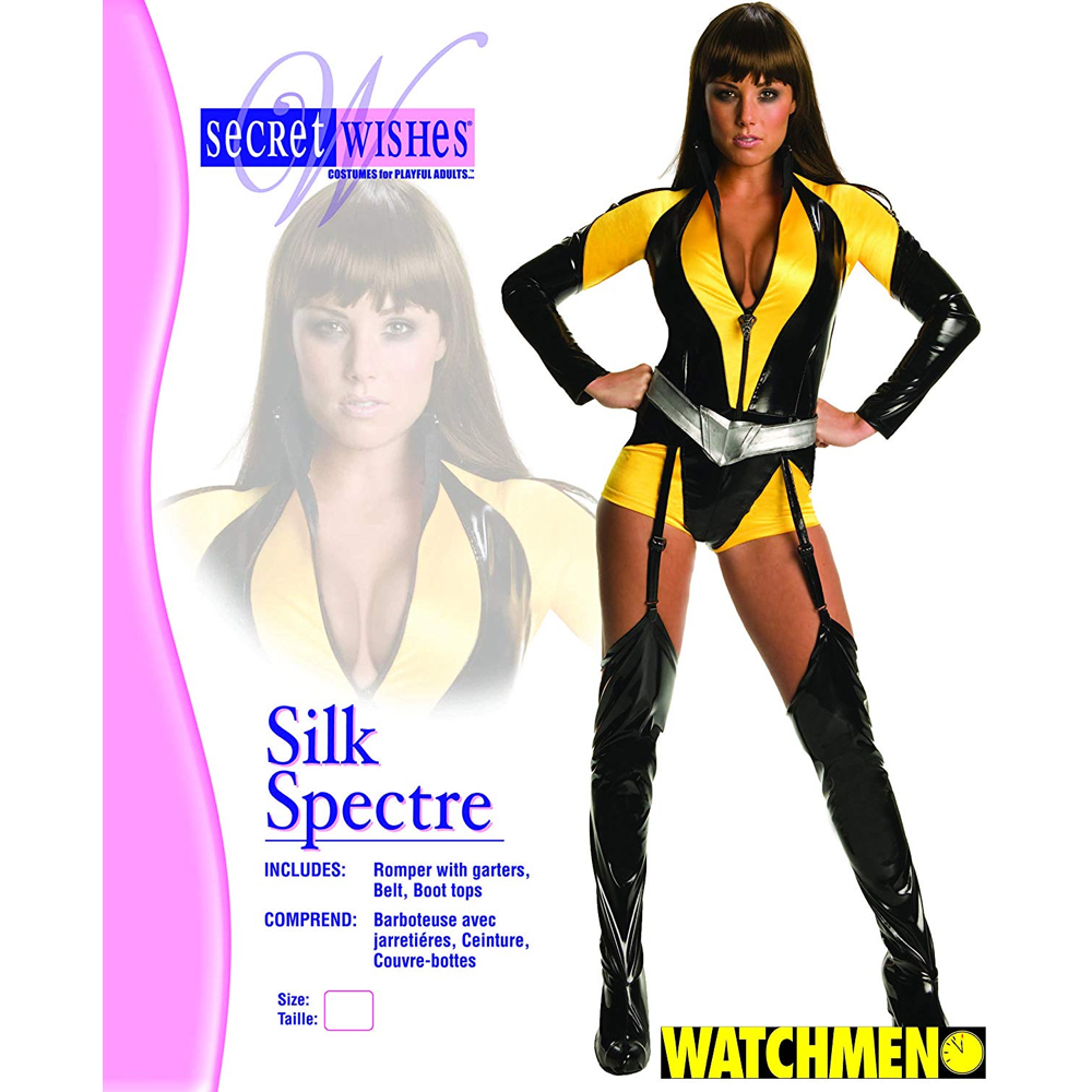 Silk Spectre Costume - Watchmen Fancy Dress - Silk Spectre Complete Costume