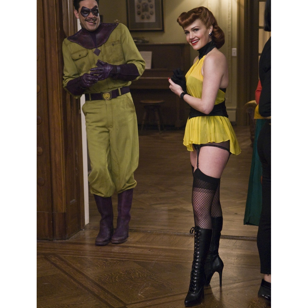 Silk Spectre Costume - Watchmen Fancy Dress - Silk Spectre Dress