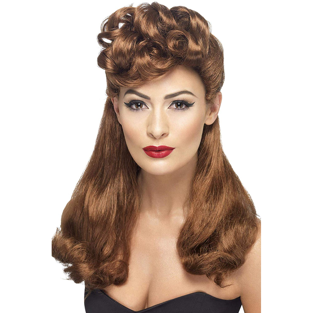 Silk Spectre Costume - Watchmen Fancy Dress - Silk Spectre Hair Wig