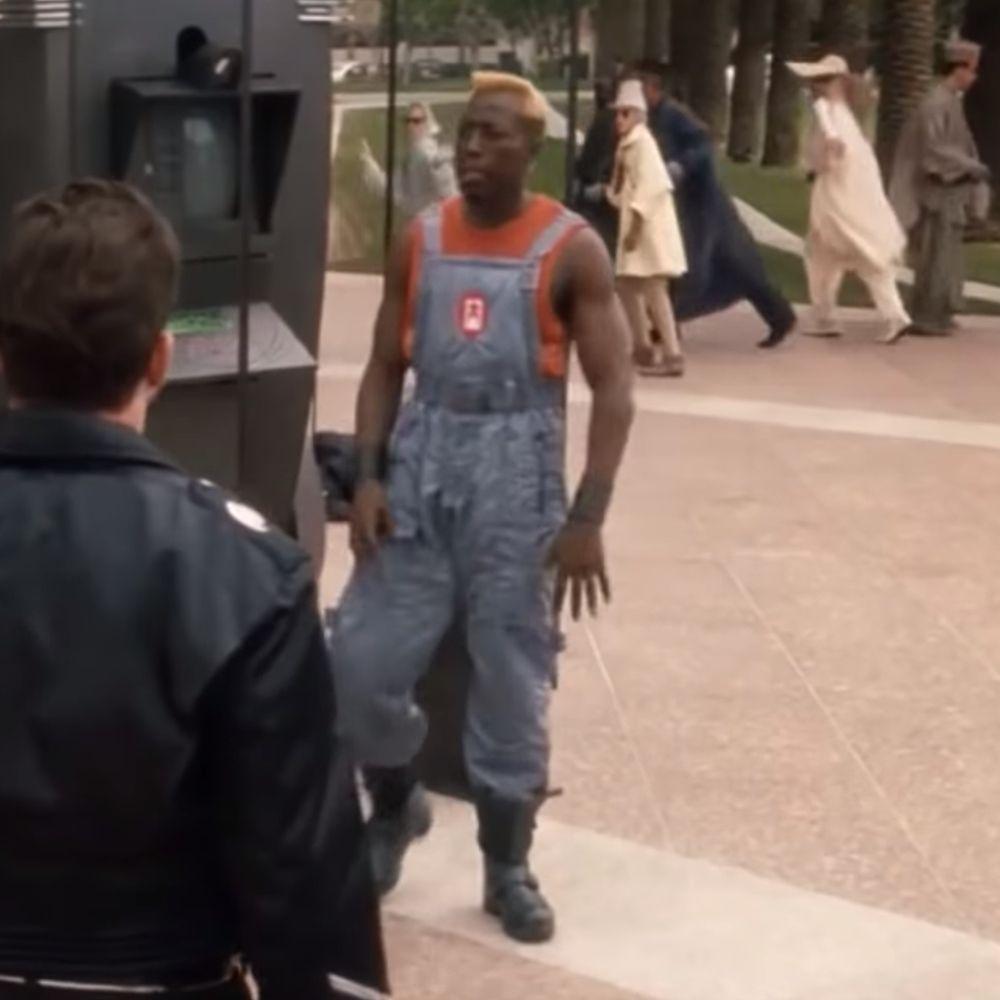 Simon Phoenix Costume - Demolition Man Fancy Dress - Simon Phoenix Boots
