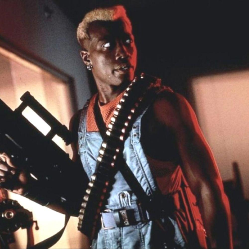 Simon Phoenix Costume - Demolition Man Fancy Dress - Simon Phoenix Shotgun Shell Bandolier
