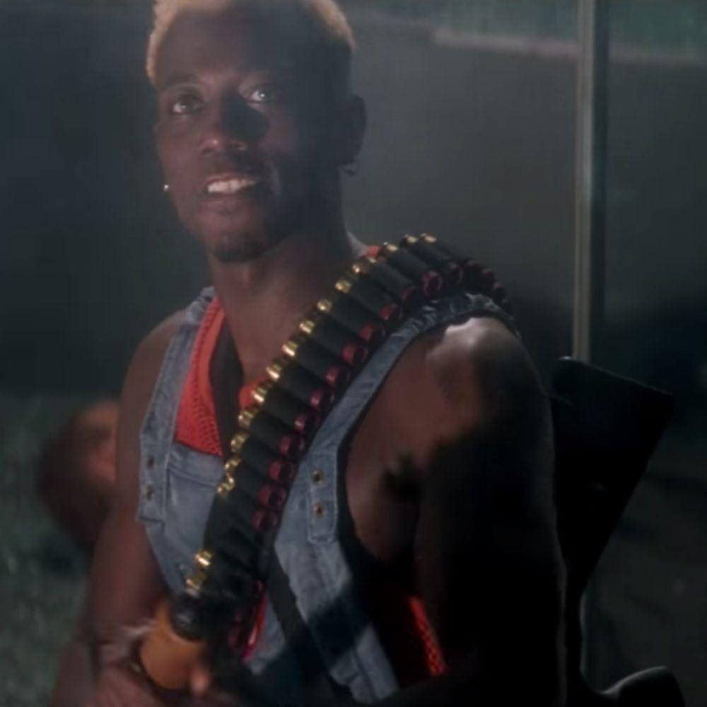 Simon Phoenix Costume - Demolition Man Fancy Dress - Simon Phoenix Shotgun Shells