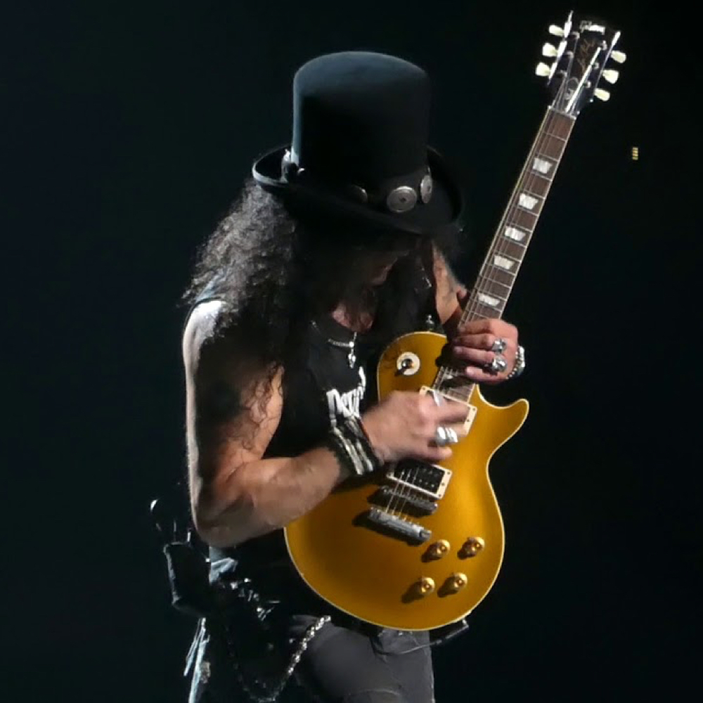 Slash Costume - Guns N' Roses Fancy Dress - Slash Guitar