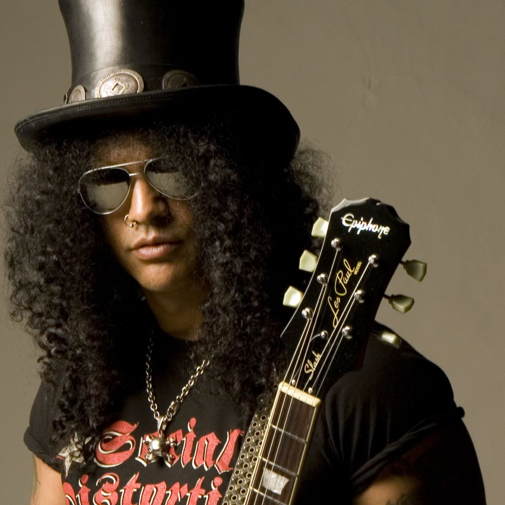 Slash Costume - Guns N' Roses Fancy Dress - Slash Nose Ring