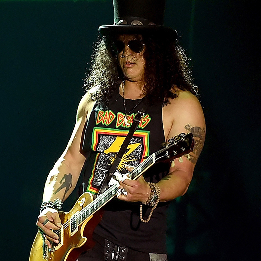 Slash Costume - Guns N' Roses Fancy Dress - Slash Tattoos
