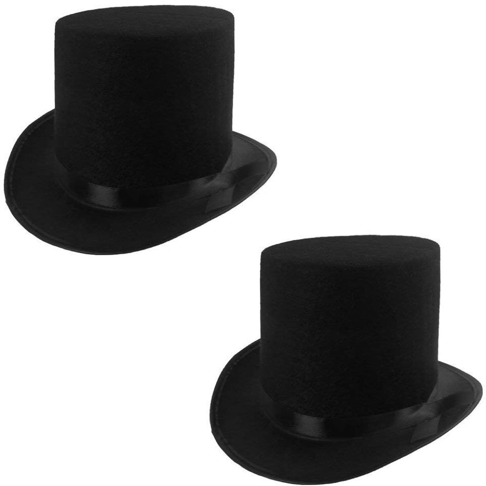 Slash Costume - Guns N' Roses Fancy Dress - Slash Top Hat
