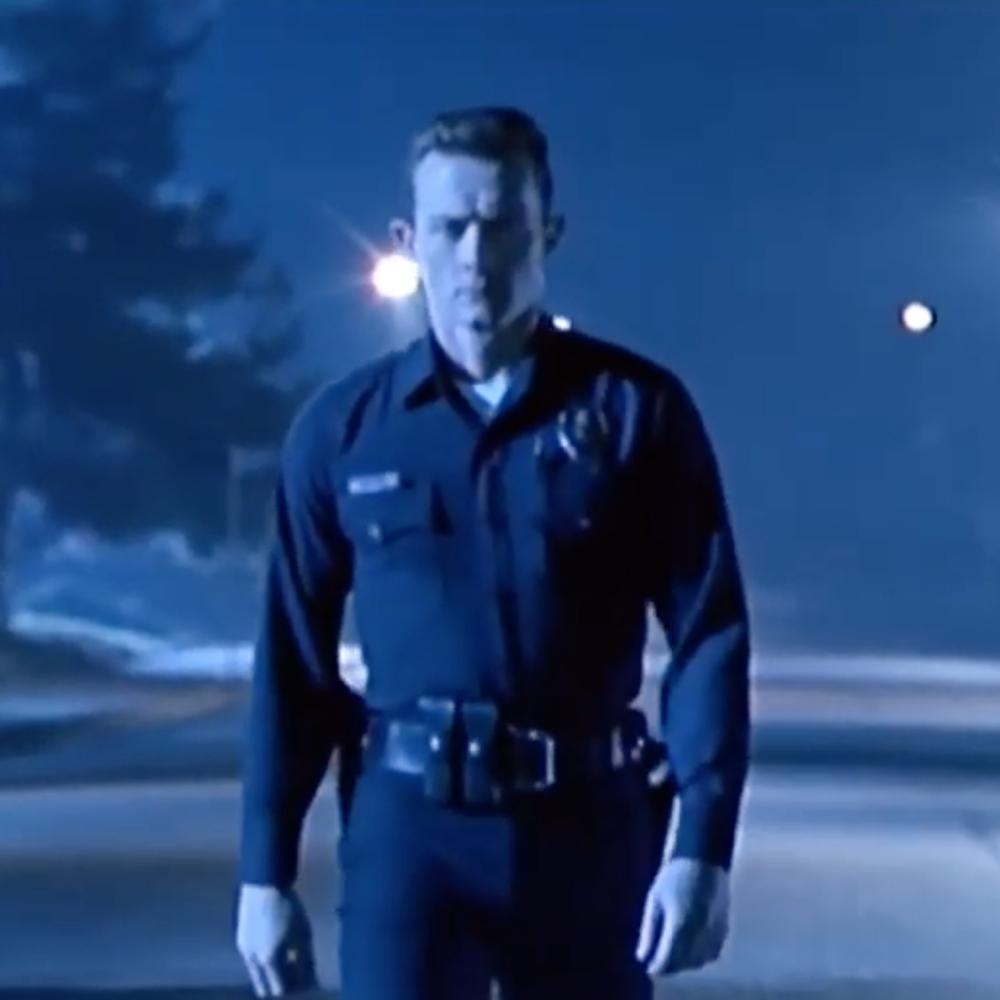 T-1000 Costume - Terminator 2: Judgement Day Fancy Dress - T-1000 Belt