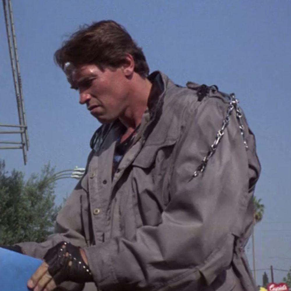 Terminator Costume - T-800 Costume - The Terminator Fancy Dress - Terminator Chain