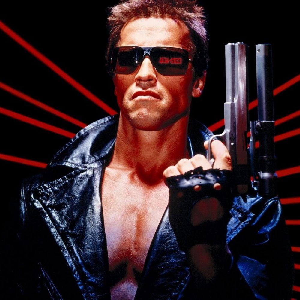 Terminator Costume - T-800 Costume - The Terminator Fancy Dress - Terminator Red Eye