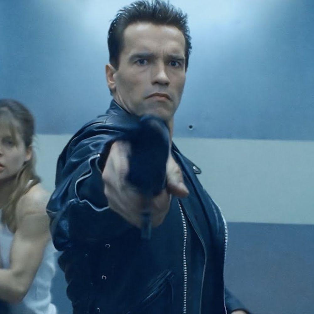 Terminator Costume - Terminator 2: Judgement Day Fancy Dress - Terminator Shotgun