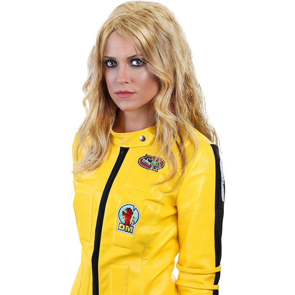 The Bride Costume - Kill Bill Fancy Dress - Kill Bill Hair Wig
