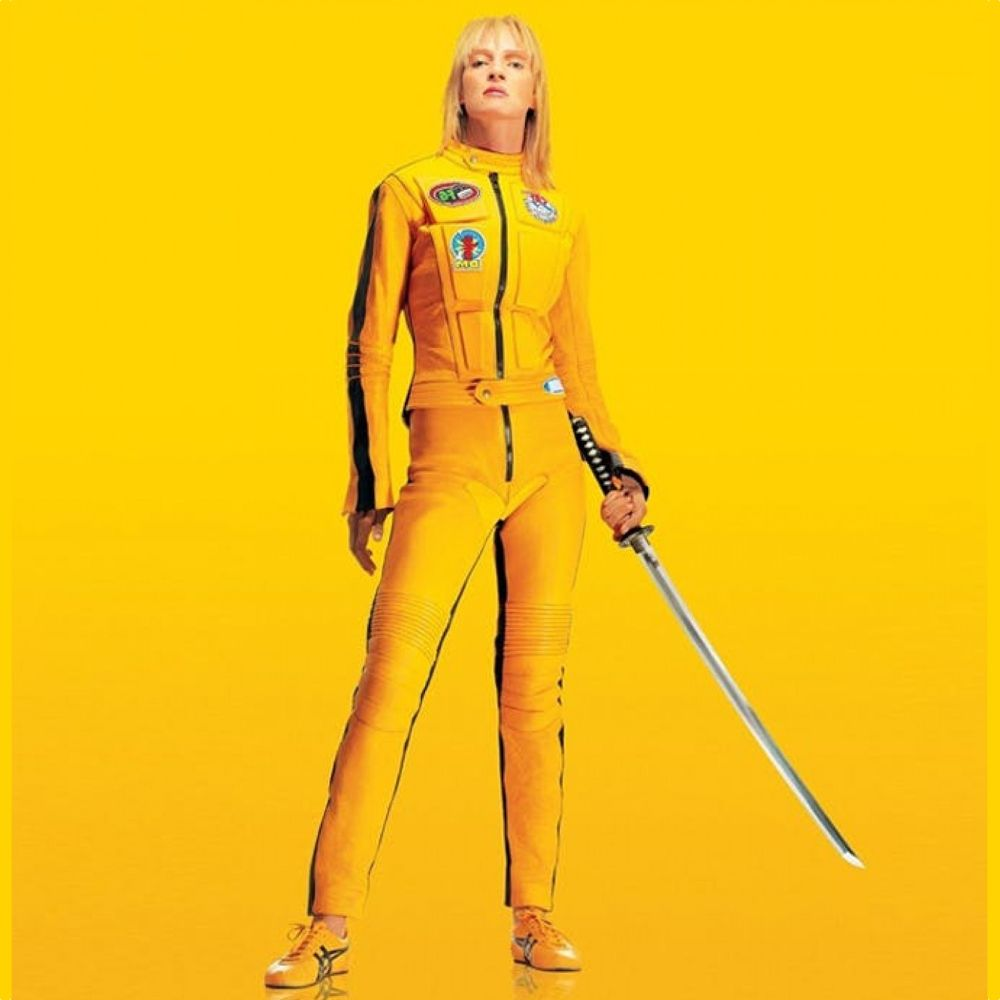 The Bride Costume - Kill Bill Fancy Dress - Kill Bill Sneakers