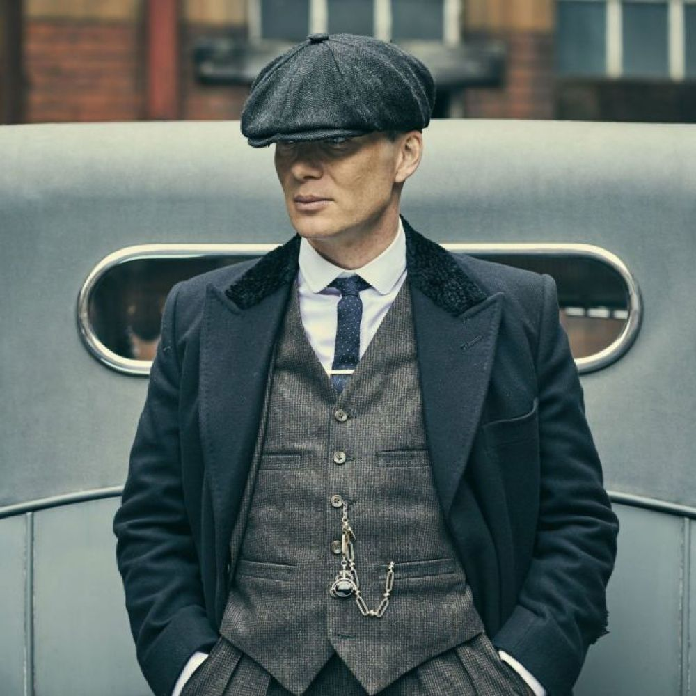 Thomas Shelby Costume - Peaky Blinders Fancy Dress Thomas Shelby Cap
