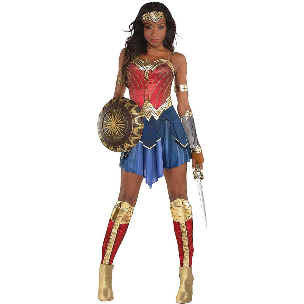 Wonder Woman Costume - Wonder Woman Fancy Dress - Wonder Woman Complete Costume