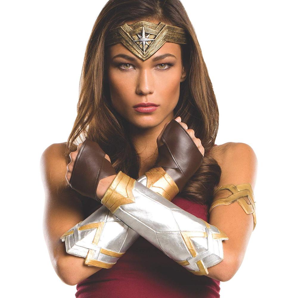 Wonder Woman Costume - Wonder Woman Fancy Dress - Wonder Woman Complete Gloves