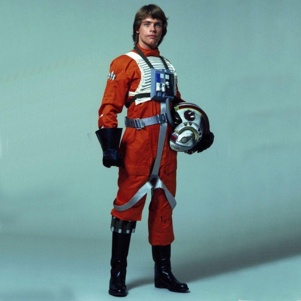 X-Wing Pilot Costume - Star Wars Fancy Dress - X-Wing Pilot Boots
