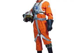 X-Wing Pilot Costume - Star Wars Fancy Dress - X-Wing Pilot Cosplay