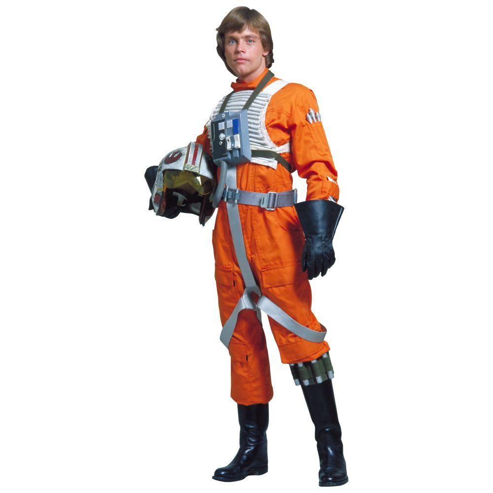 X-Wing Pilot Costume - Star Wars Fancy Dress - X-Wing Pilot Coverall