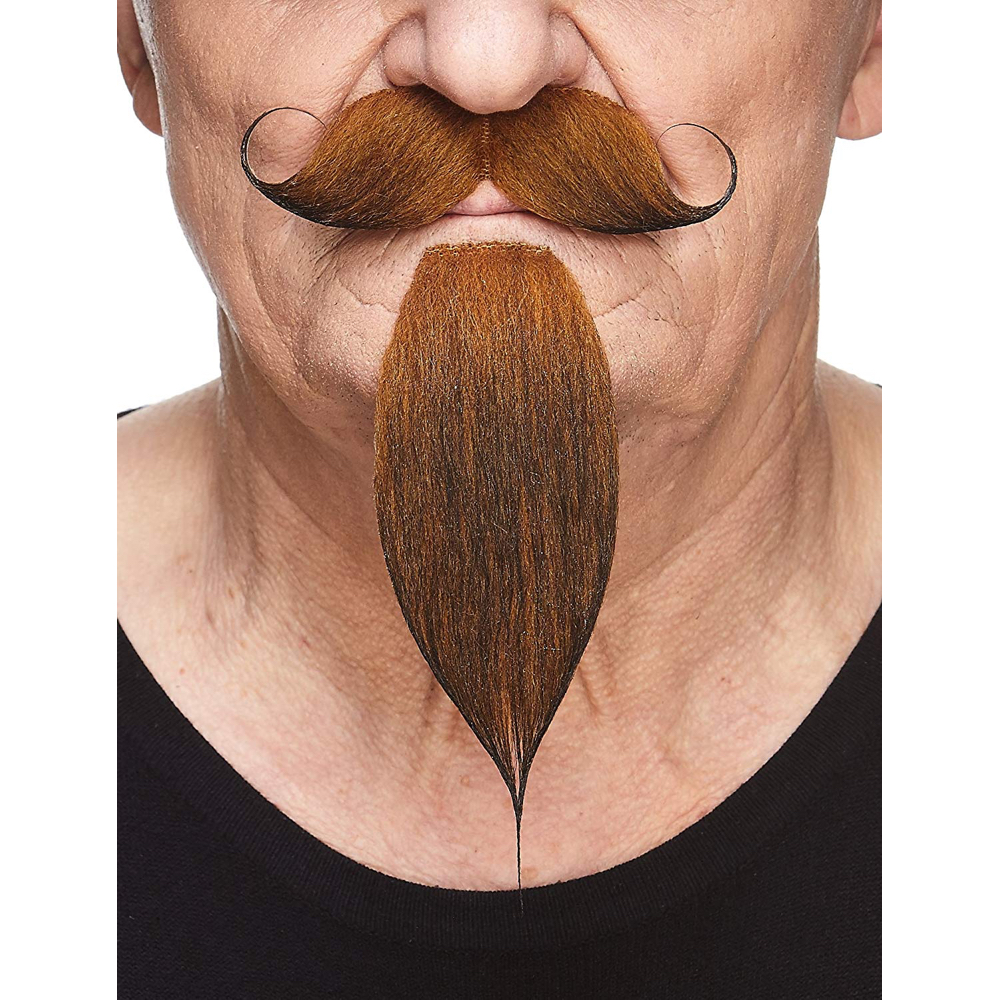 Yosemite Sam Costume - Looney Tunes Fancy Dress - Yosemite Sam Eyebrows and Mustache