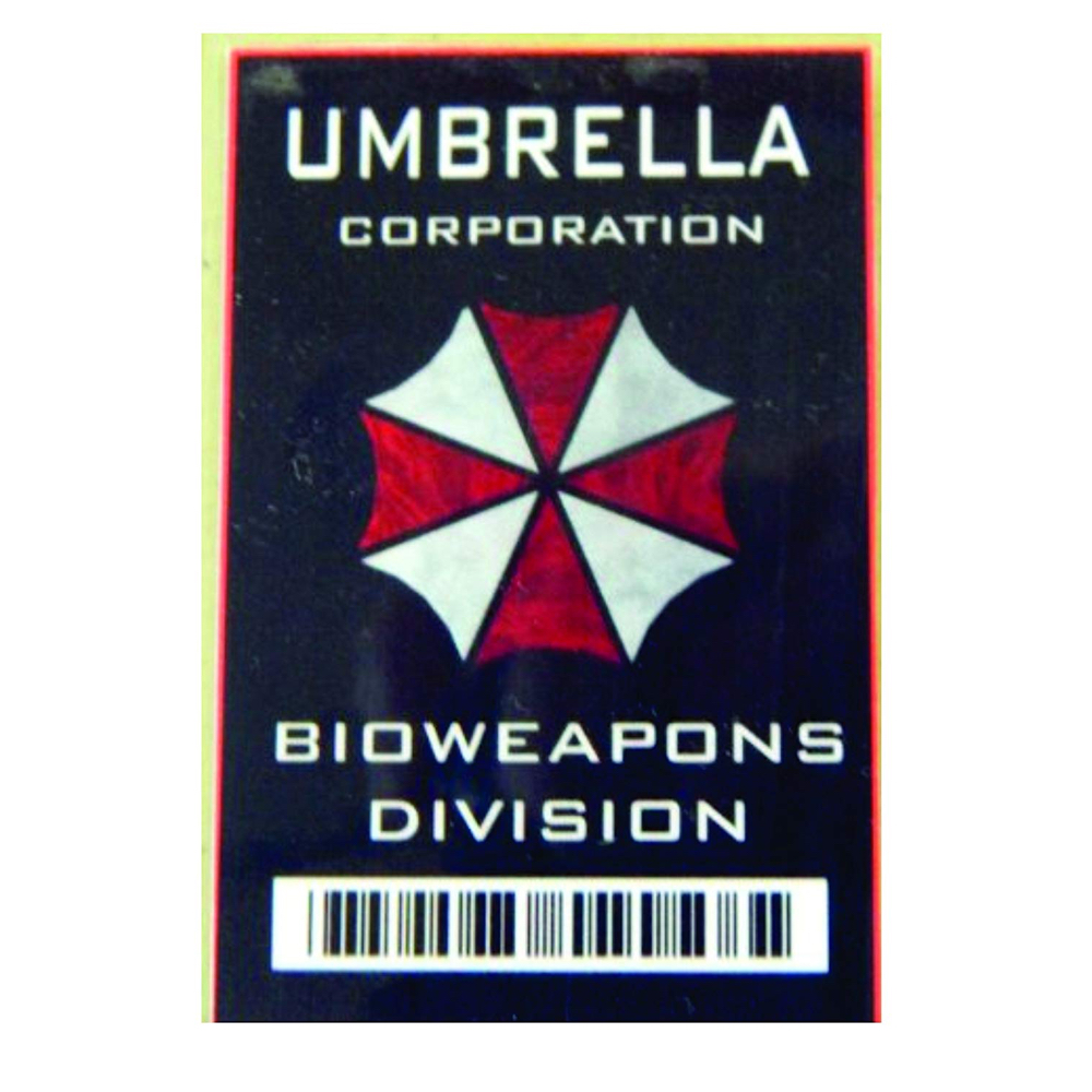Alice Costume - Resident Evil Fancy Dress - Alice Umbrella Corp ID Tag