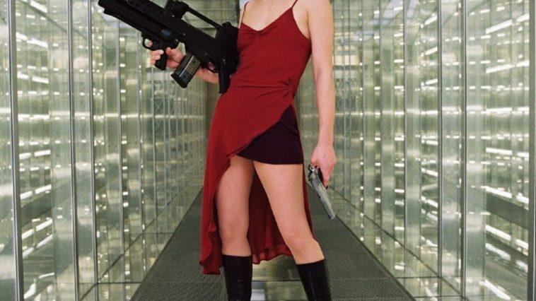 Alice Costume - Resident Evil Fancy Dress - Alice Cosplay
