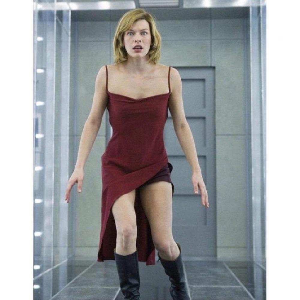 Alice Costume - Resident Evil Fancy Dress - Alice Dress