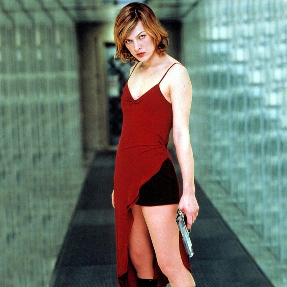 Alice Costume - Resident Evil Fancy Dress - Alice Shorts