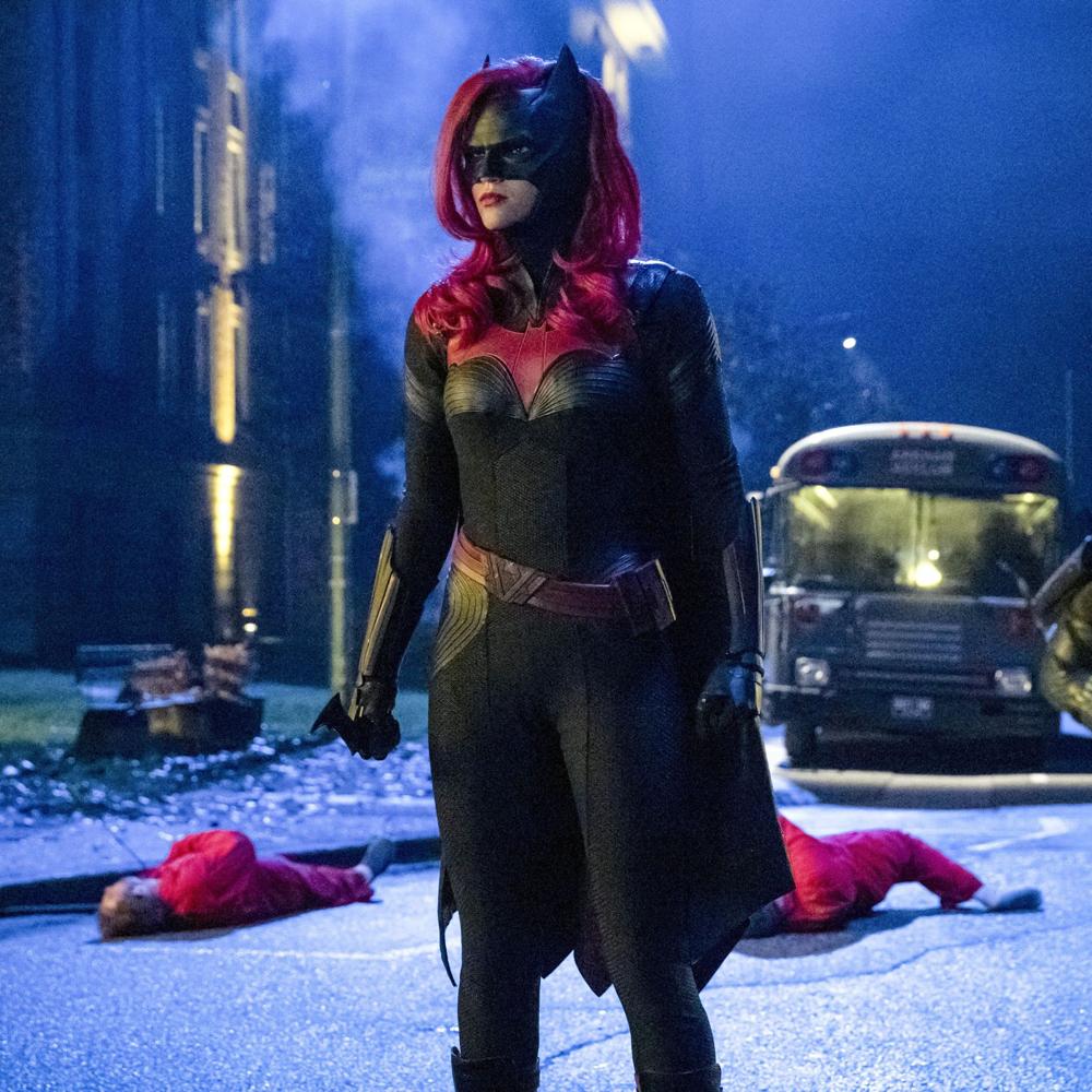 Batwoman Costume - Batwoman Fancy Dress - Batwoman Bodysuit