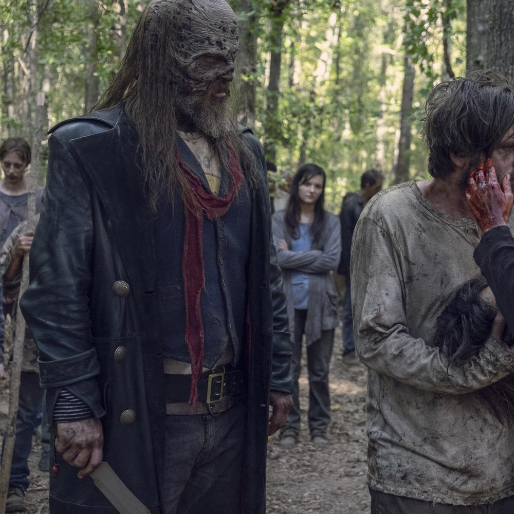 Beta Costume - The Walking Dead Fancy Dress - Beta Scarf