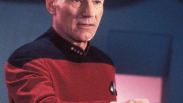 Captain Jean-Luc Picard Costume - Start Trek Fancy Dress - Captain Jean-Luc Picard Cosplay