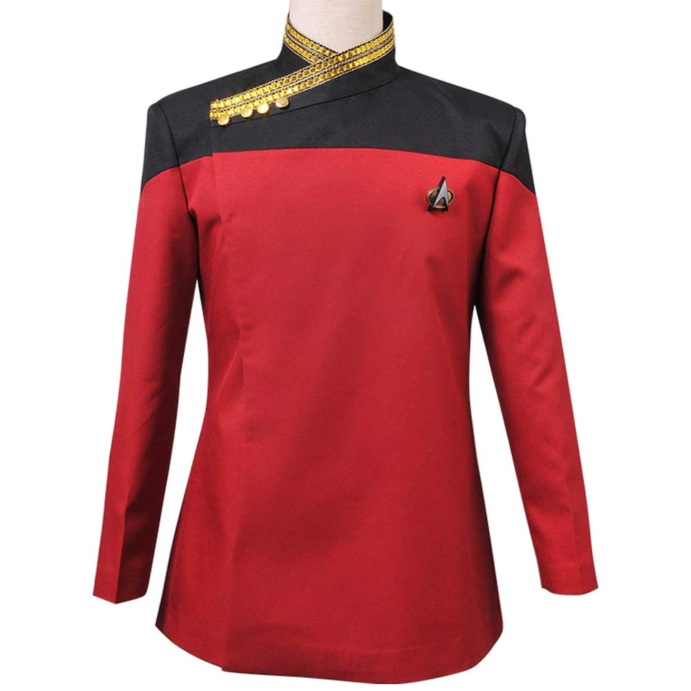 Captain Jean-Luc Picard Costume - Start Trek Fancy Dress - Captain Jean-Luc Picard Shirt