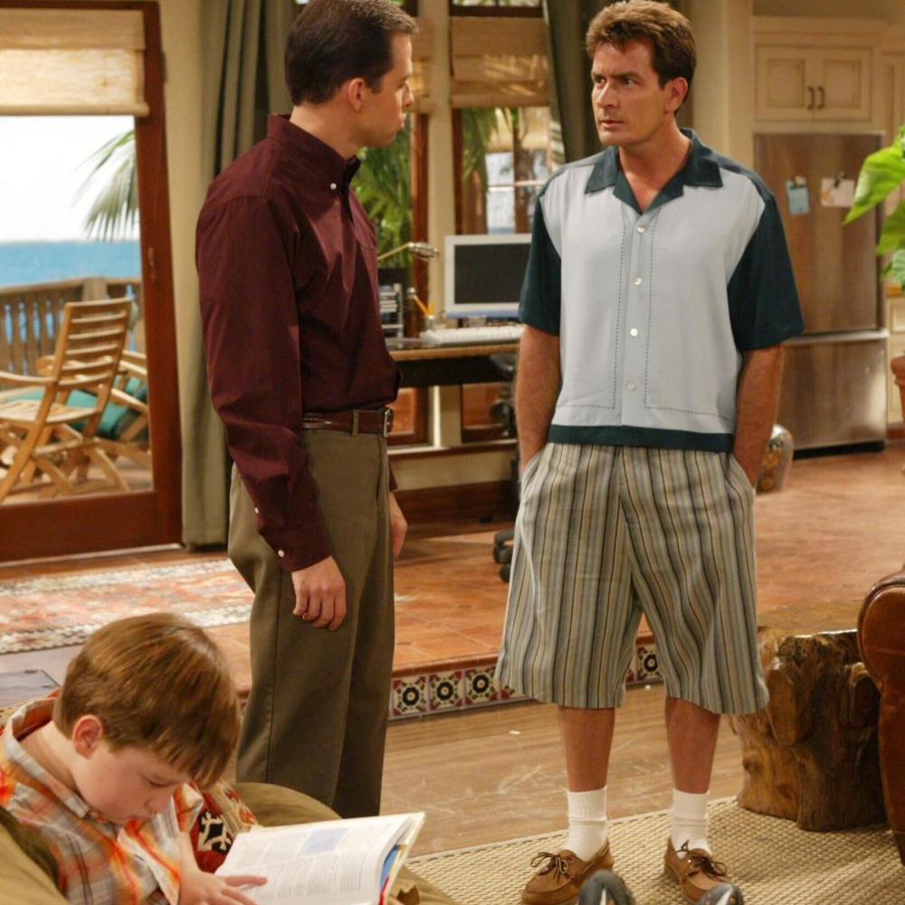 Charlie Harper Costume - Two and A Half Men Fancy Dress - Charlie Harper Socks