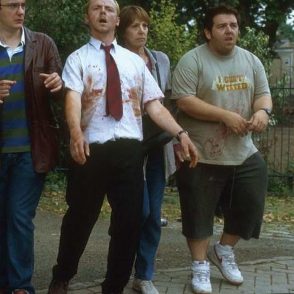 Shaun of the Dead Costume - Shaun of the Dead Fancy Dress - Ed Sneakers
