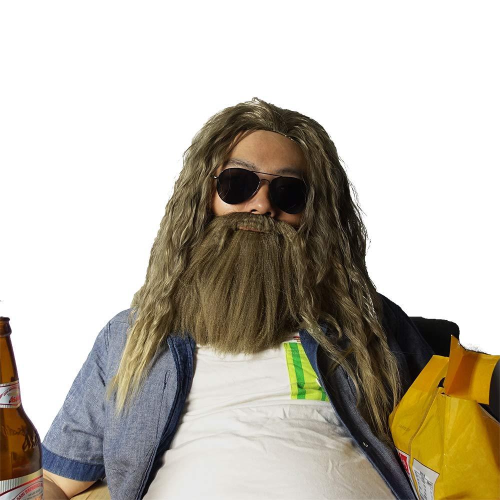 Fat Thor Costume - Avengers: Endgame Fancy Dress - Fat Thor Beard