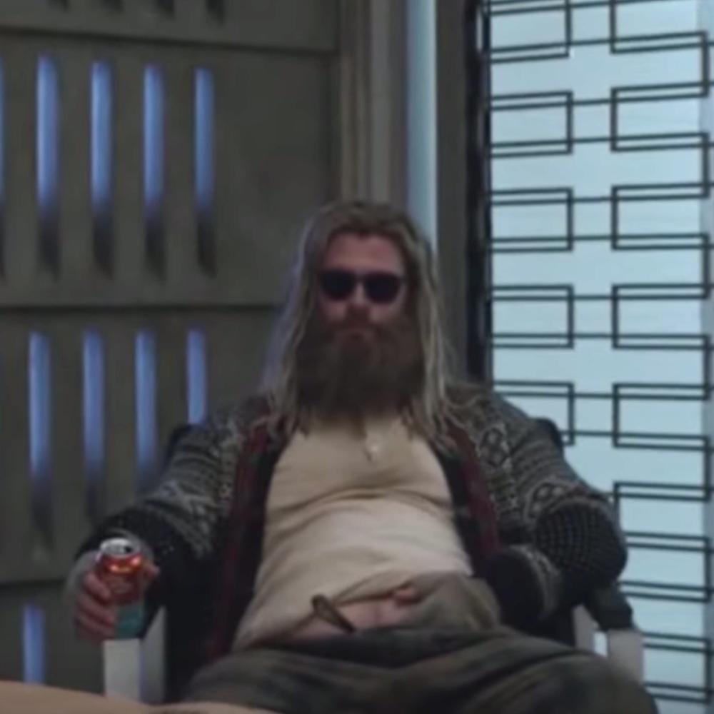 Fat Thor Costume - Avengers: Endgame Fancy Dress - Fat Thor Beer