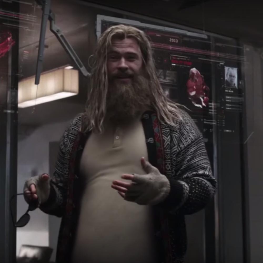 Fat Thor Costume - Avengers: Endgame Fancy Dress - Fat Thor Gloves