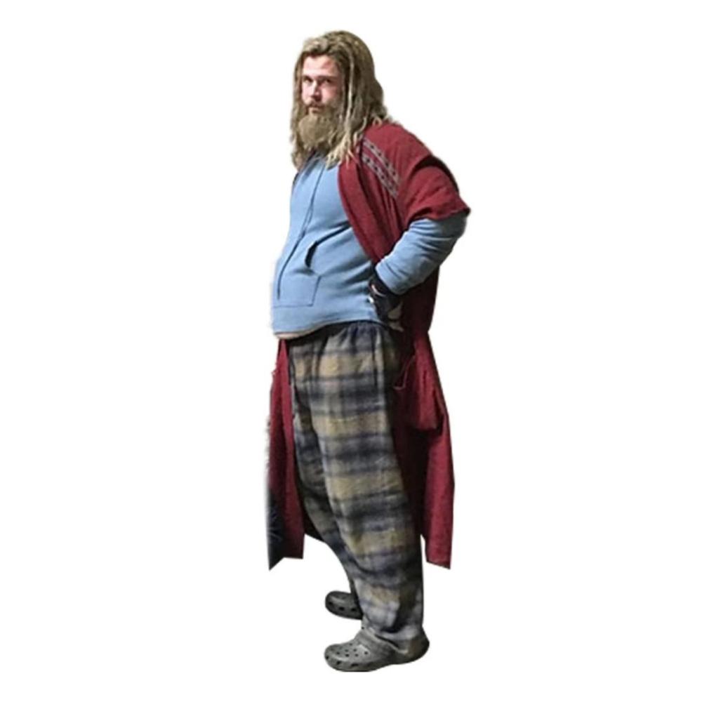 Fat Thor Costume - Avengers: Endgame Fancy Dress - Fat Thor Pants
