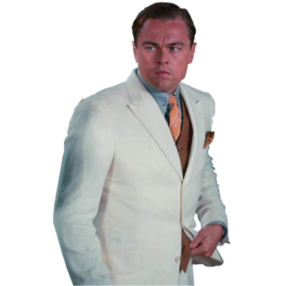 Jay Gatsby Costume - The Great Gatsby Fancy Dress - Jay Gatsby Necktie
