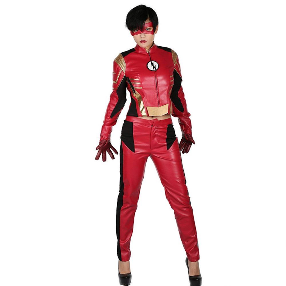 Jessie Quick Costume - The Flash Fancy Dress - Jessie Quick Complete Costume