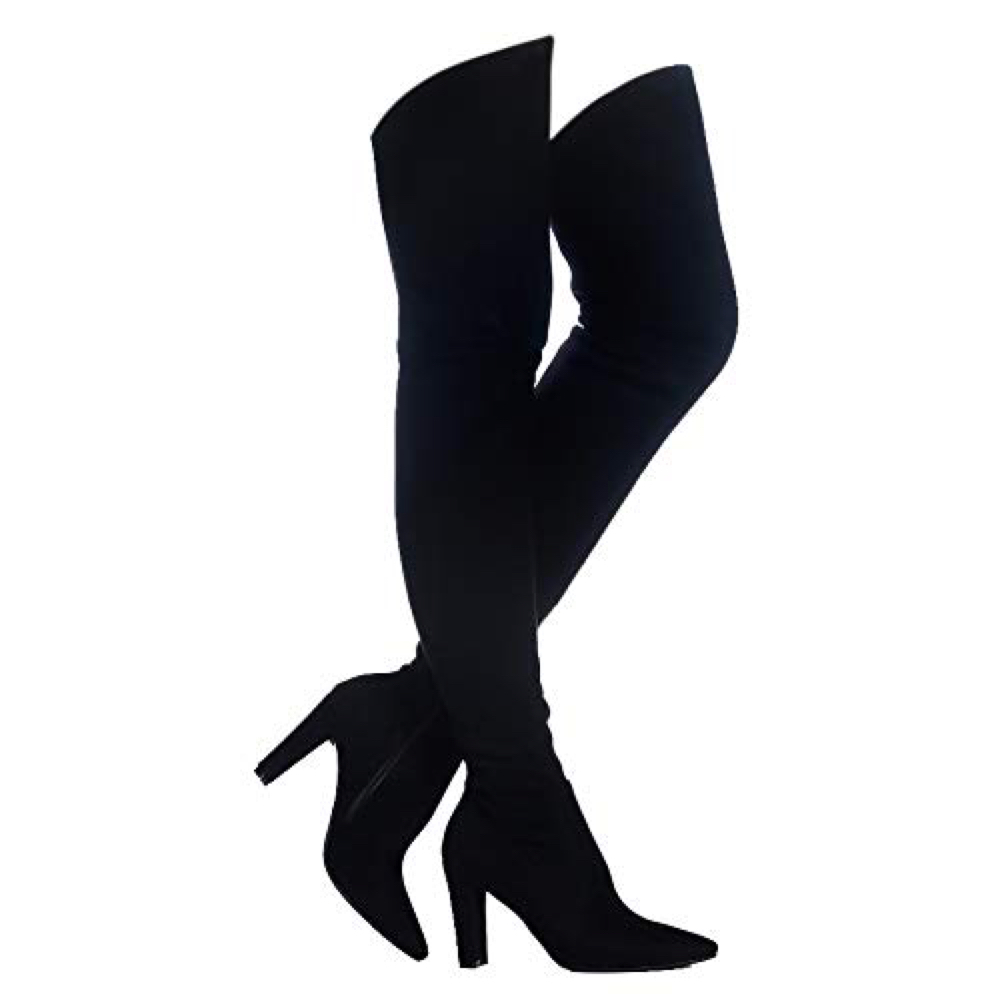 Lilly Poison Costume - Men in Black Fancy Dress - Lilly Poison Boots