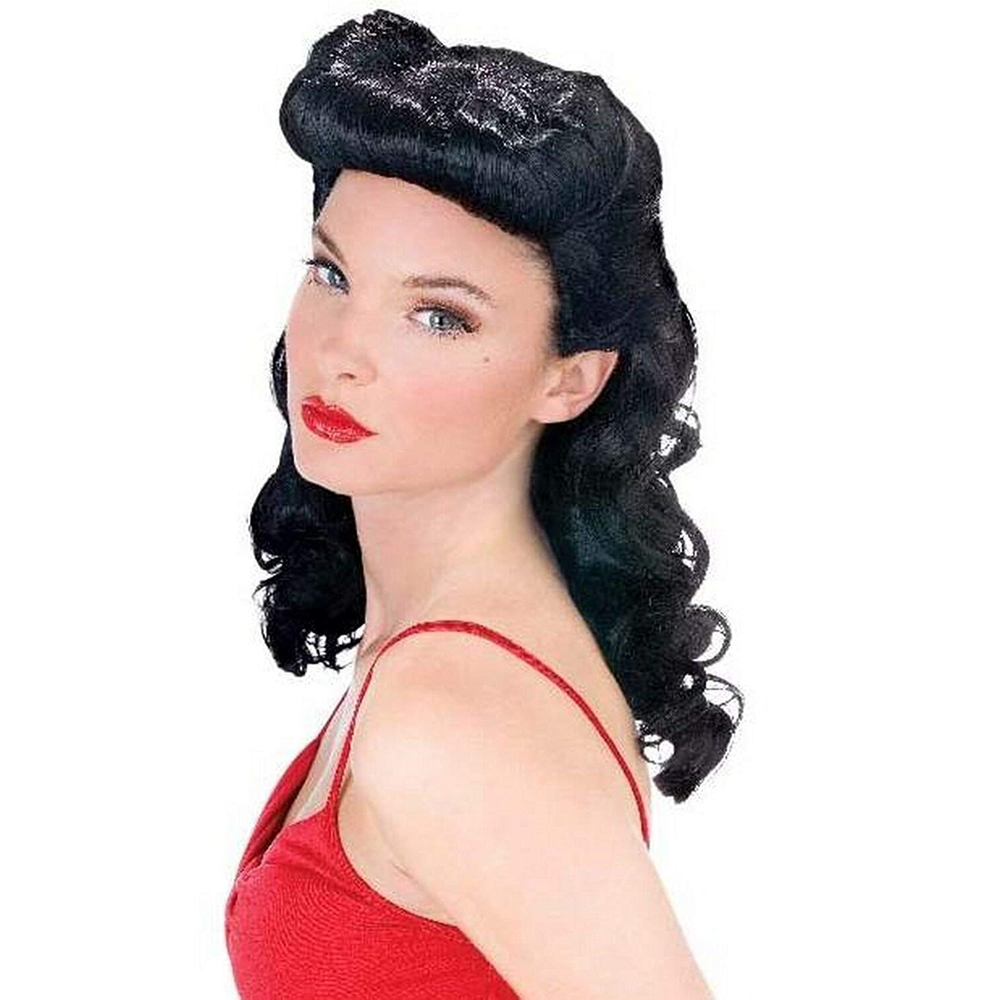 Lilly Poison Costume - Men in Black Fancy Dress - Lilly Poison Hair Wig