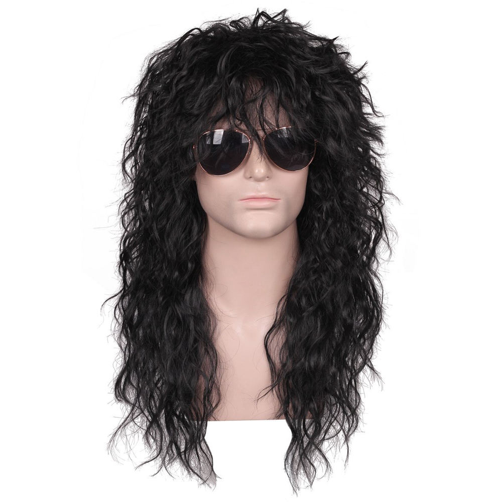 Night Stalker Costume - American Horror Story Fancy Dress - Night Stalker Hair Wig