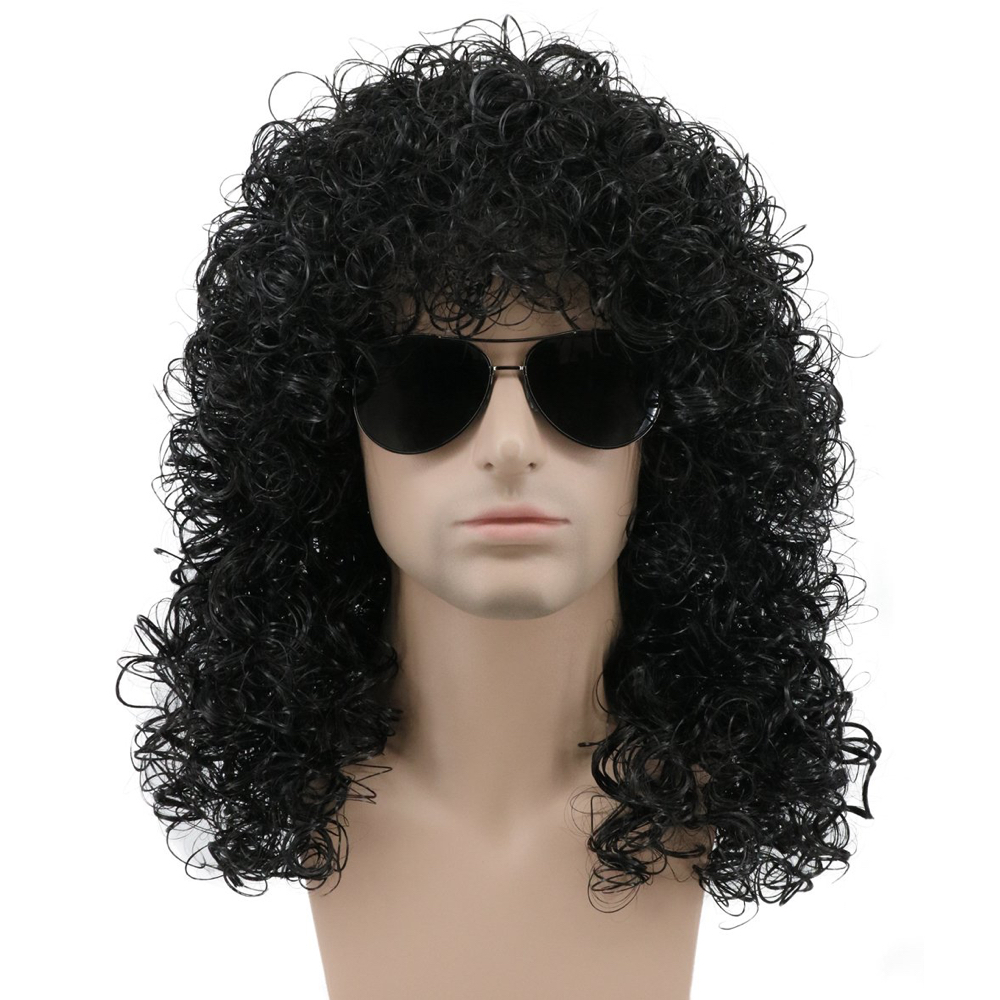Night Stalker Costume - American Horror Story Fancy Dress - Night Stalker Hair Wig