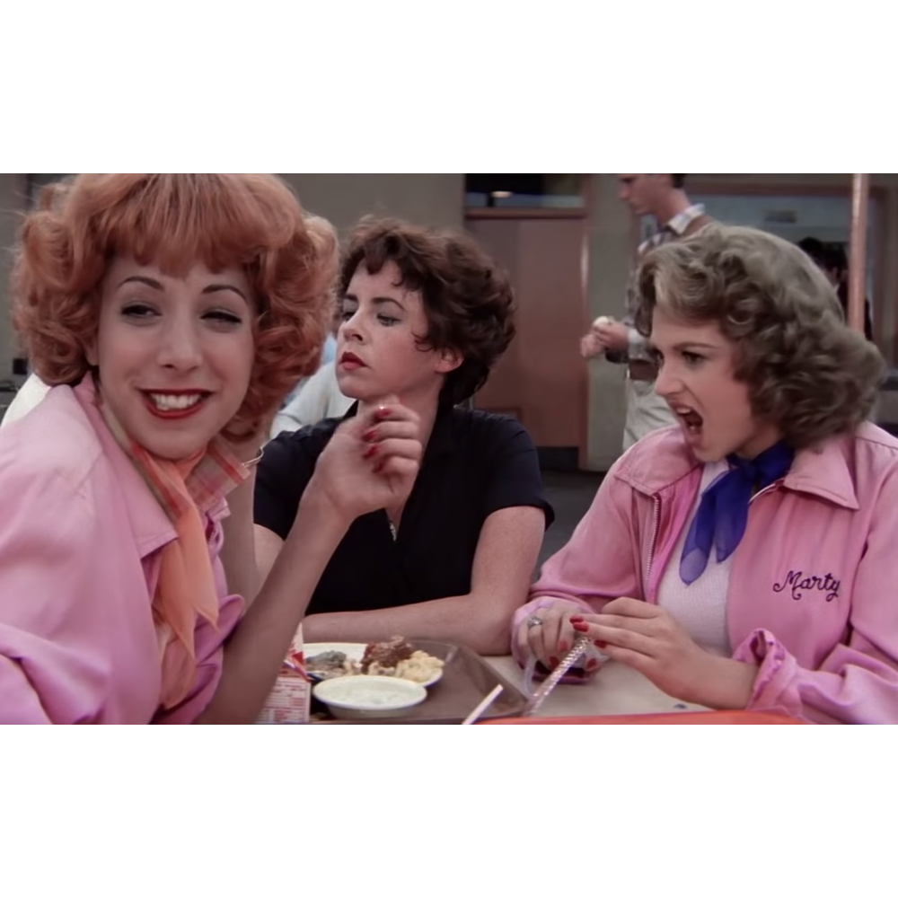 Pink Ladies Costume - Grease Fancy Dress - Pink Ladies Complete Costume