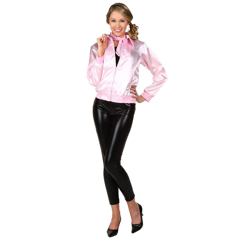 Pink Ladies Costume - Grease Fancy Dress - Pink Ladies Jacket