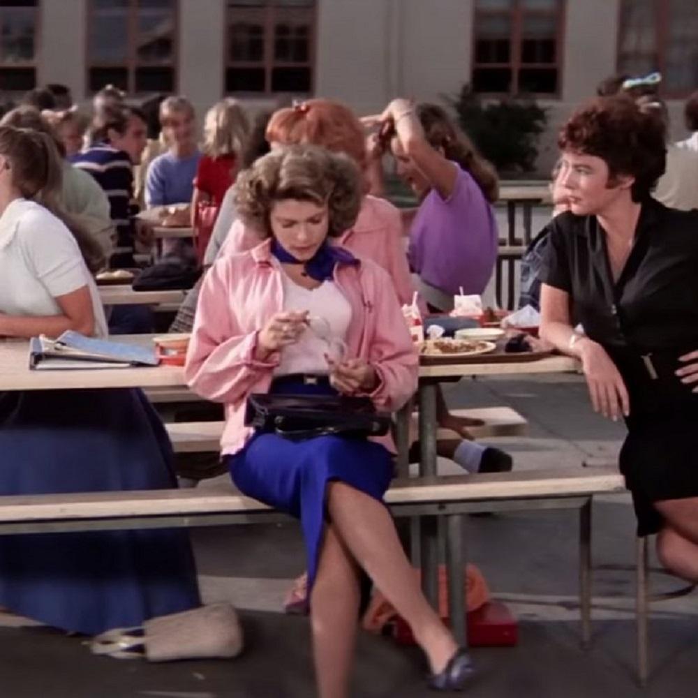 Pink Ladies Costume - Grease Fancy Dress - Pink Ladies Skirt