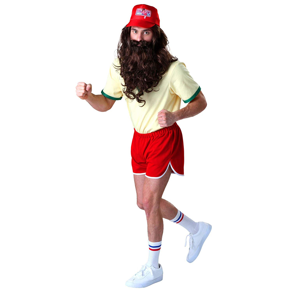 Running Forrest Gump Costume - Forrest Gump Fancy Dress - Running Forrest Gump Complete Costume