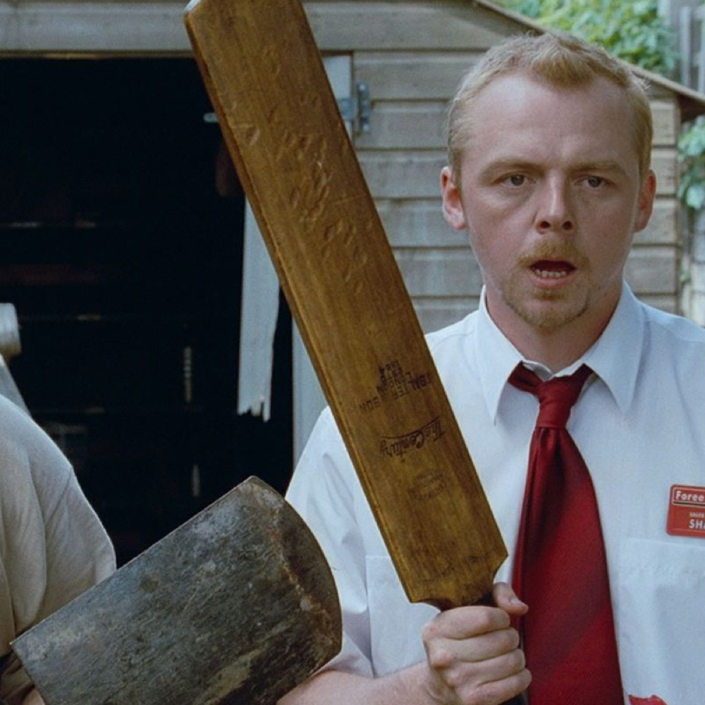 Shaun of the Dead Costume - Shaun of the Dead Fancy Dress - Shaun Bat